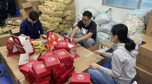 广药为来穗过年游客捐赠1万个爱心健康礼包,公益活动温暖人心
