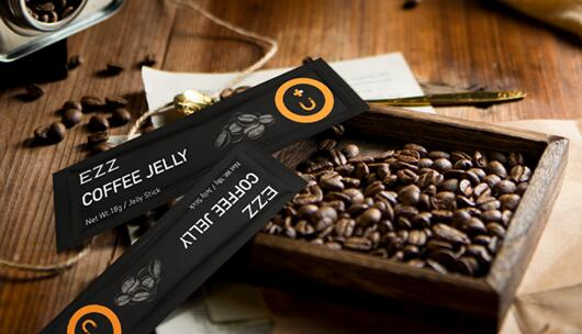 "EZZ黑咖啡减肥果冻""超燃""发布 主打快速燃卡不回弹"