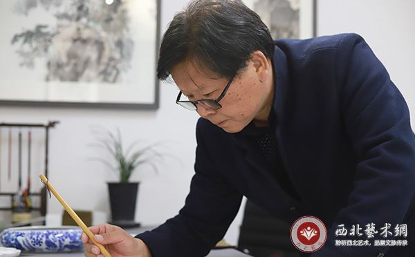 画家吕选利|昔日商界栋梁,今日画界新秀