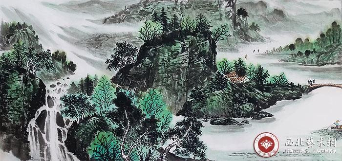2021艺术界实力派画家张福臣:山水画堪称一绝